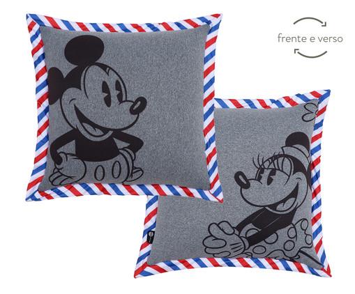 Almofada Frente e Verso Vintage Mickey - 40x40x12cm, Colorido | WestwingNow