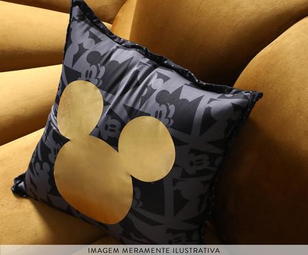 Almofada Frente e Verso Geometric Mickey Preto - 40x40x12cm | WestwingNow
