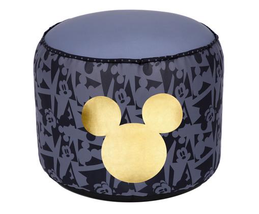 Puff Rolha Geometric Mickey - Preto, Colorido | WestwingNow