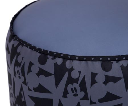 Puff Rolha Geometric Mickey - Preto | WestwingNow