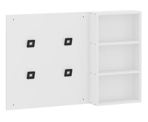 Painel Cabideiro Organizador Flow - Branco, Branco | WestwingNow