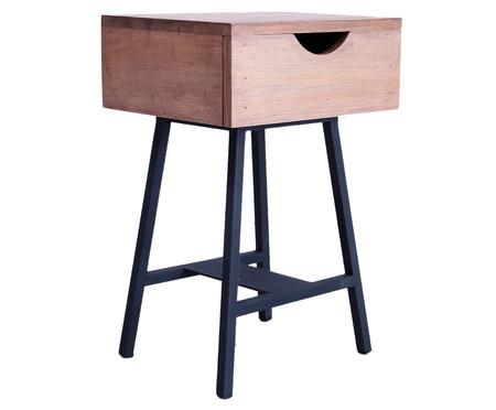 Mesa de Cabeceira Ceci - Preta | WestwingNow