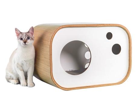 Casa para Pet Radio - Natural e Branco | WestwingNow