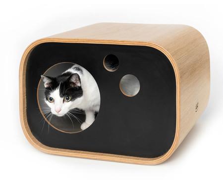 Casa para Pet Radio - Natural e Preto | WestwingNow
