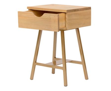 Mesa de Cabeceira Ceci - Dourada | WestwingNow