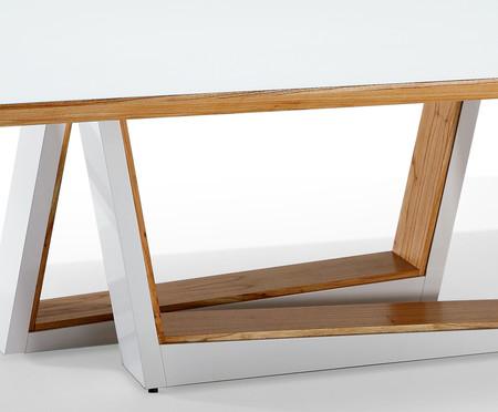 Mesa de Jantar Retangular Pâmela - Branco | WestwingNow