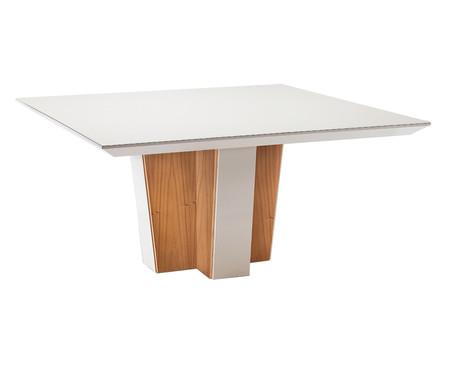 Mesa de Jantar Quadrada Christie - Branco | WestwingNow