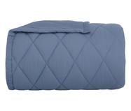 Edredom Basic Percalle Azul - 180 Fios Fios | WestwingNow