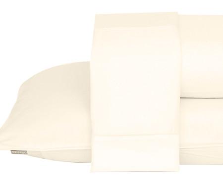 Jogo de Lençol Basic Palha - 250 Fios | WestwingNow