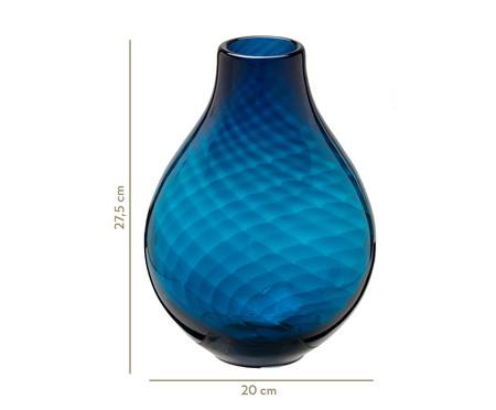 Vaso de Vidro Caio - Azul | WestwingNow