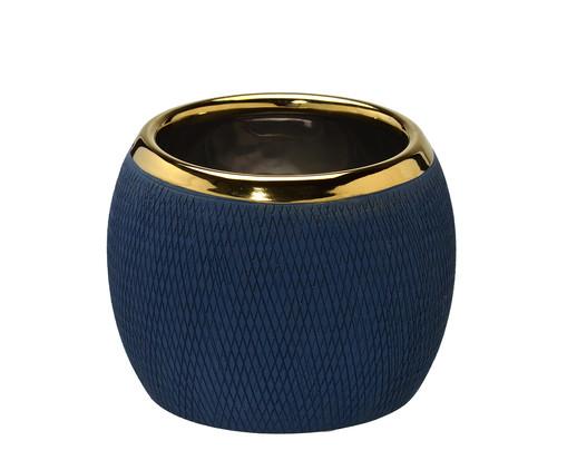 Vaso Nina - Azul, Azul e Dourado | WestwingNow