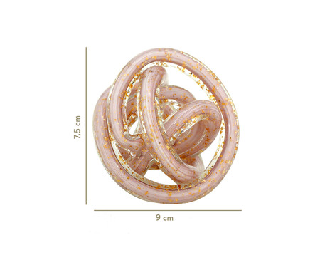 Esfera decorativa Briana - Rosa | WestwingNow