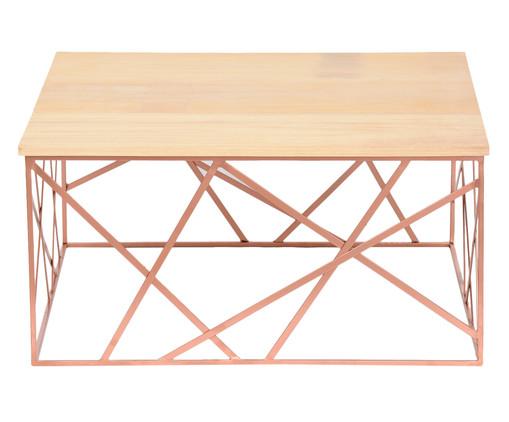 Mesa de Centro Nova York - Acobreada, Rosé, Natural | WestwingNow