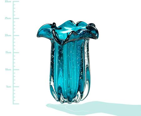 Vaso de Vidro Raquel - Azul | WestwingNow
