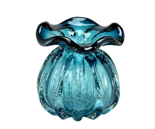 Vaso de Vidro Nick - Azul, Azul | WestwingNow