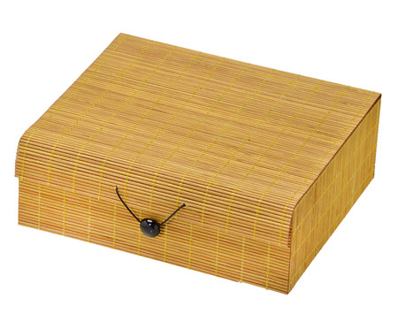 Caixa Decorativa Billie - Amarela | WestwingNow