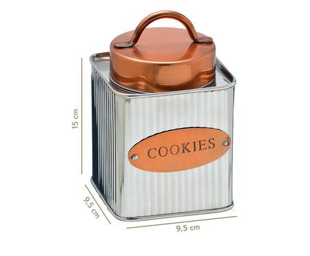 Pote de Cookies Arline - Prata   WestwingNow