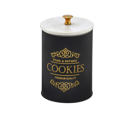 Pote de Cookies Juliete - Preto   WestwingNow