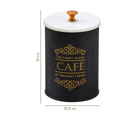 Pote de Cafe Juliete - Preto   WestwingNow
