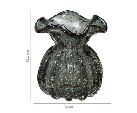 Vaso de Vidro Cauê - Cinza | WestwingNow