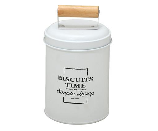 Pote de Biscoito Eva - Branco, Branco | WestwingNow
