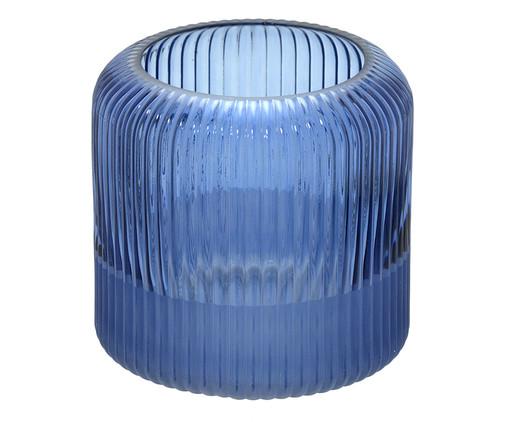 Vaso de Vidro Ionne - Azul, Azul | WestwingNow