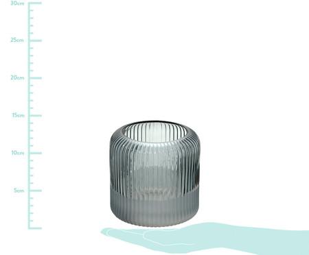 Vaso de Vidro Ionne - Cinza | WestwingNow