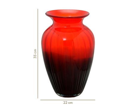 Vaso de Vidro Milene - Vermelho | WestwingNow