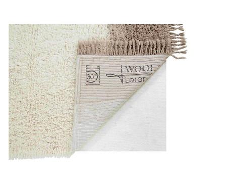 Tapete Assimétrico em Lã Natural Spring | WestwingNow