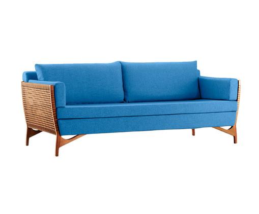 Sofá em Corda Cutiê - Azul, Azul | WestwingNow