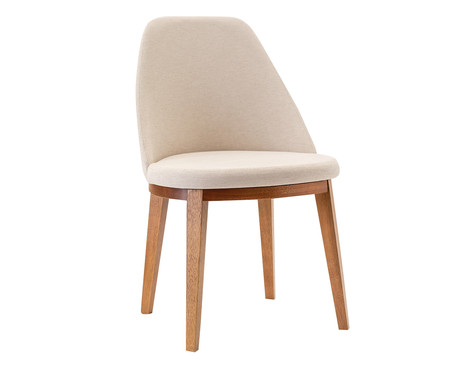 Cadeira Lisa - Amêndoa | WestwingNow