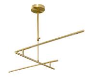 Lustre de Led Fini Dourado - Bivolt | WestwingNow