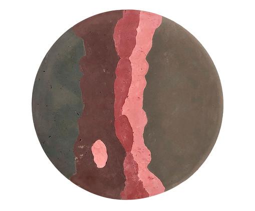 Quadro em Concreto Geo Araribóia - 60cm, Colorido | WestwingNow