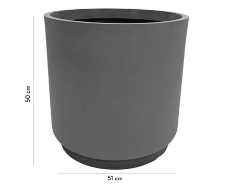 Vaso de Piso Cumbuca - Cinza | WestwingNow