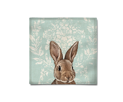 Guardanapo Bunny - Azul, Azul | WestwingNow