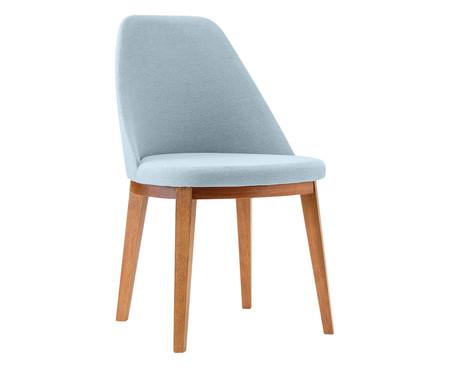 Cadeira de Madeira Lisa - Azul Claro | WestwingNow