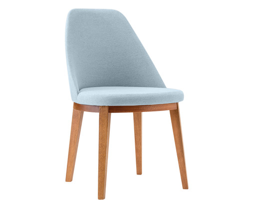 Cadeira de Madeira Lisa - Azul Claro, Azul | WestwingNow