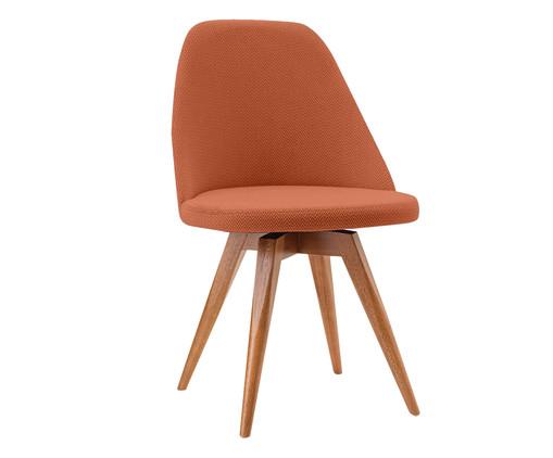 Cadeira Fixa Lucy - Telha, Laranja | WestwingNow