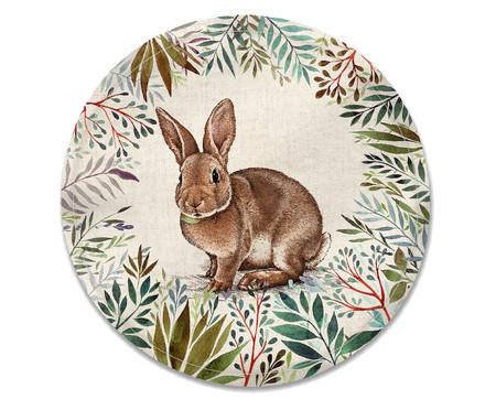 Lugar Americano Rabbit - Colorido | WestwingNow