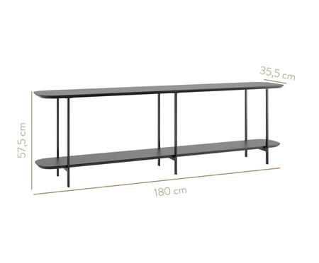 Sofa Table Iron - Preto | WestwingNow
