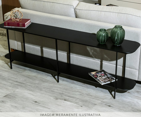 Sofa Table Iron - Preto | WestwingNow