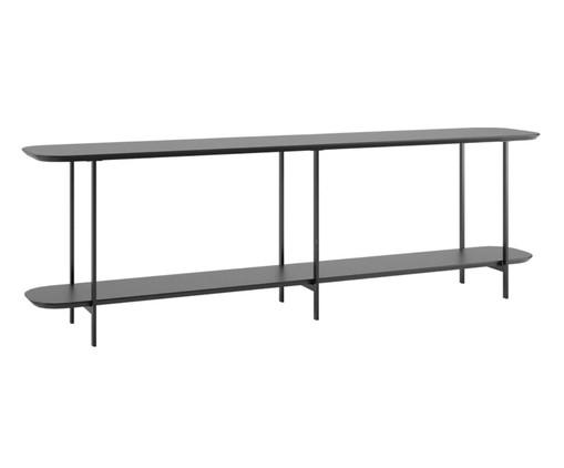 Aparador Table Iron - Preto, Preto | WestwingNow