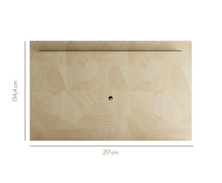 Painel Geo - Natural e Preto | WestwingNow