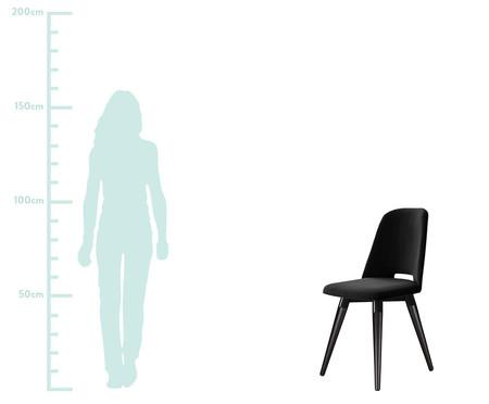 Cadeira Selina Giratória - Preta | WestwingNow