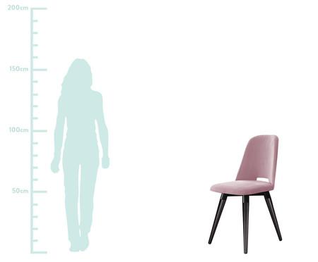 Cadeira Selina Giratória - Rosê   WestwingNow