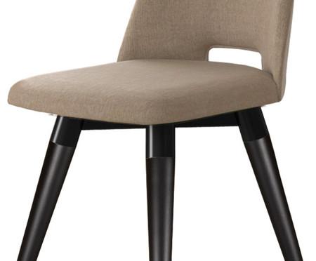 Cadeira Selina Giratória - Fendi e Preta   WestwingNow