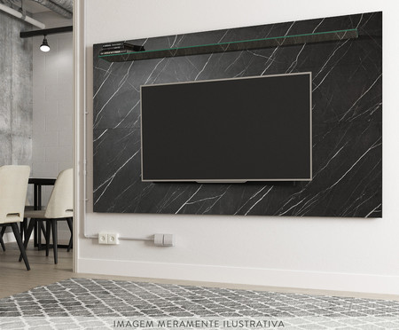 Painel Geo Marble - Preto | WestwingNow