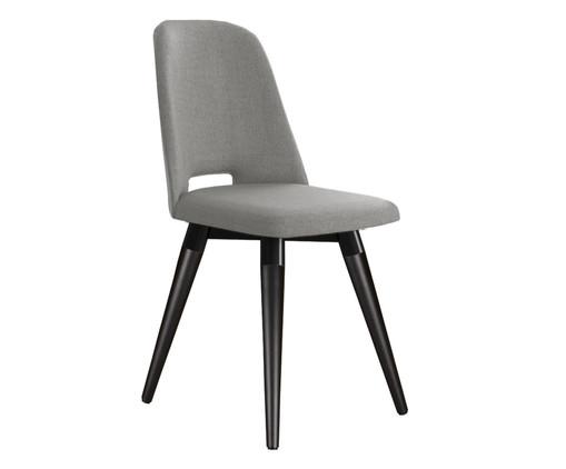 Cadeira Selina Giratória - Cinza e Preta, Preto | WestwingNow
