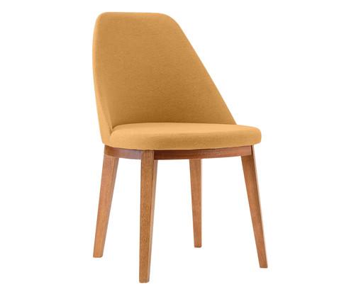 Cadeira de Madeira Lisa - Mostarda, Amarelo | WestwingNow