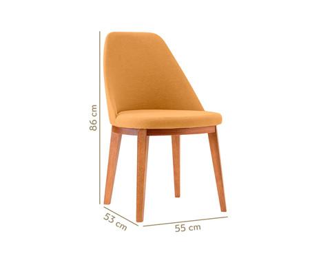 Cadeira de Madeira Lisa - Mostarda | WestwingNow